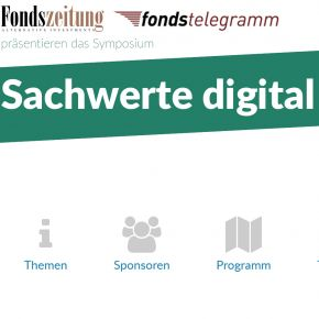 Sachwerte digital Screenshot